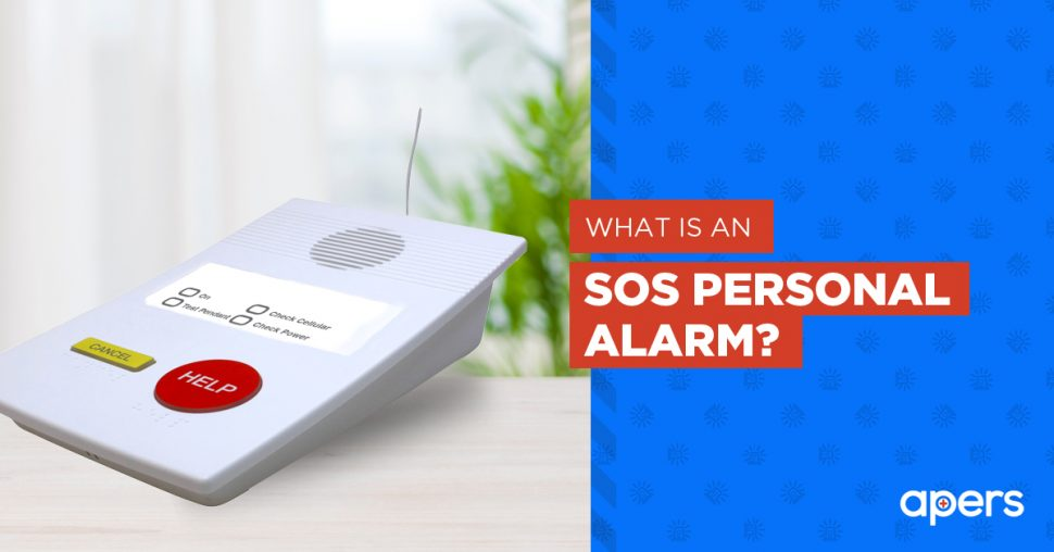 What is an SOS personal alarm