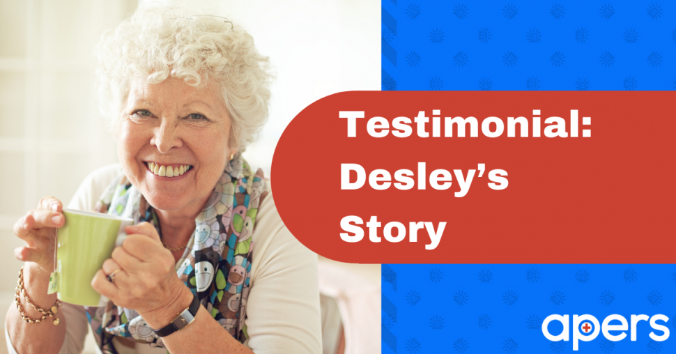 Testimonial: Desley's Story